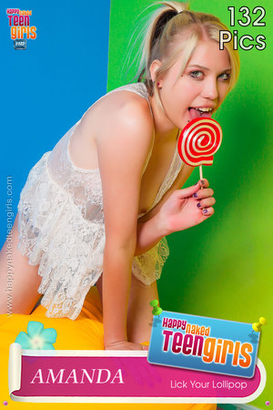 PHOTOSET Amanda Lick Your Lollipop